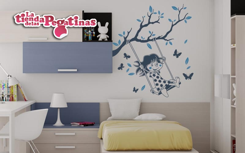 Vinilos infantiles para decorar arboles infantiles blog for Vinilo habitacion nina