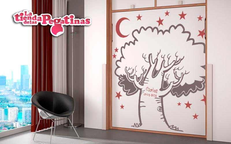 El color de los vinilos decorativos blog vinilos - Vinilos de arboles para paredes ...
