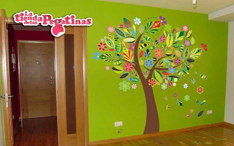 Dudas sobre los vinilos decorativos 1 blog vinilos for Pegatinas murales pared