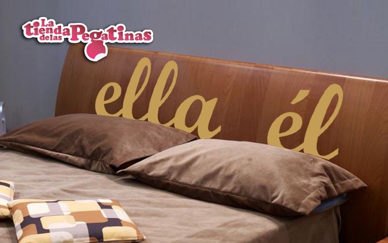 Nuevas pegatinas de vinilo con frases 1 blog vinilos - Vinilos decorativos cabecero ...