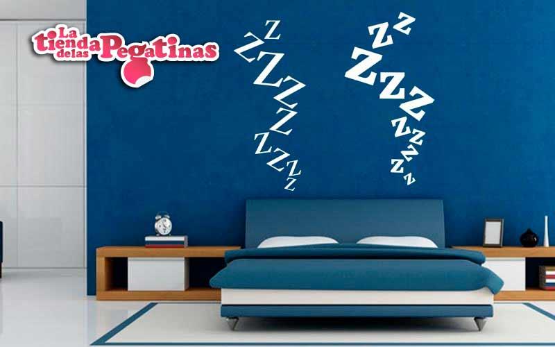 Como decorar un dormitorio con vinilos con ejemplos for Pegatinas para dormitorios