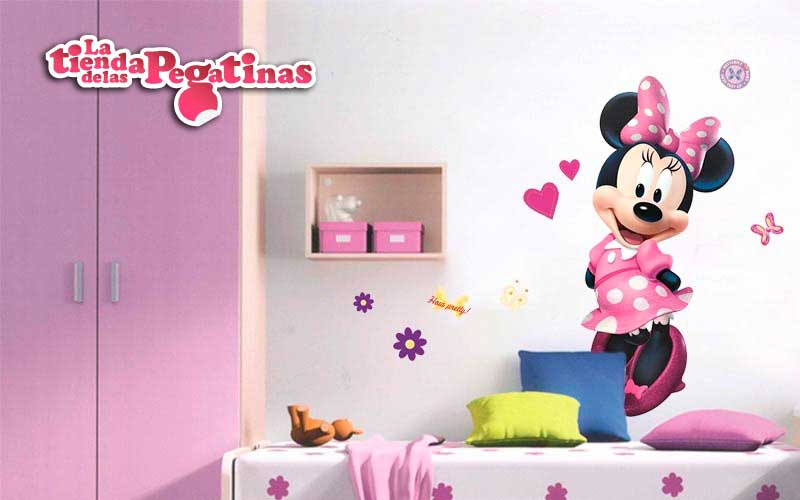 Pegatinas de mickey para decorar for Pegatinas vinilo pared