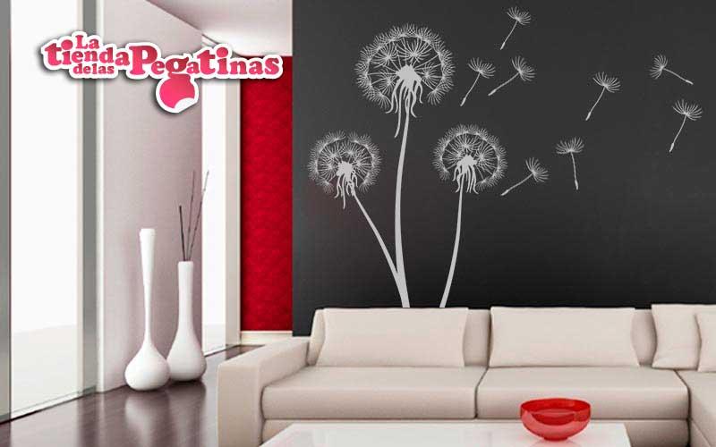 Como decorar un dormitorio con vinilos con ejemplos for Vinilos decorativos salon