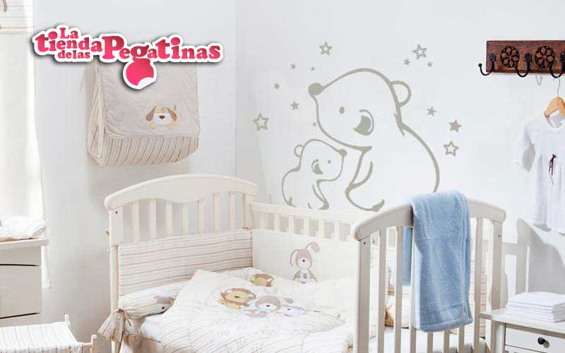 Pegatinas de ositos para habitaciones infantiles for Pegatinas habitacion infantil