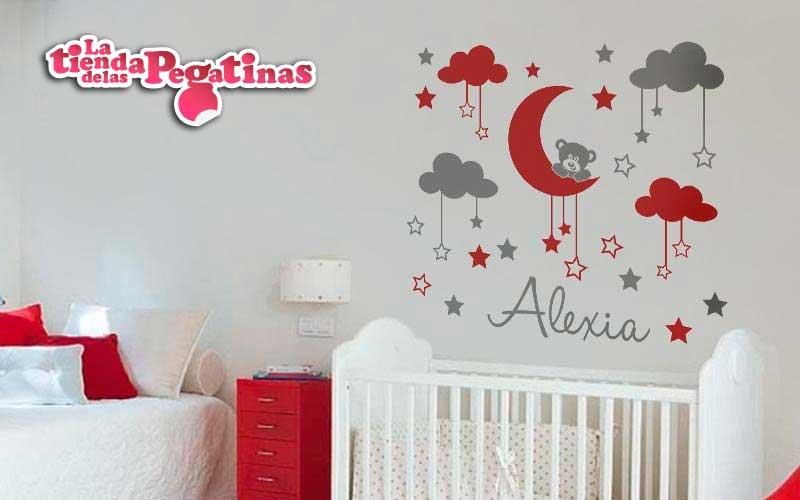 Pegatinas de ositos para habitaciones infantiles for Pegatinas para habitacion de bebe