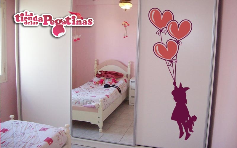 Vinilos decorativos para ninos 3 blog vinilos for Pegatinas pared nina
