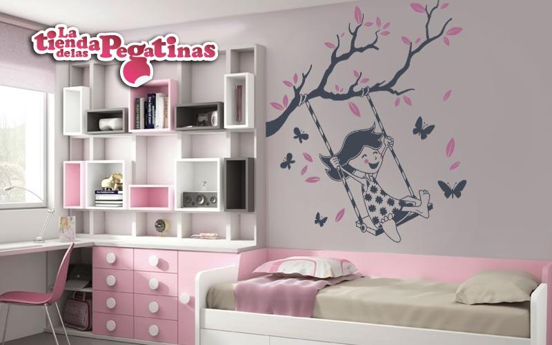 Vinilos infantiles para decorar arboles infantiles blog for Pegatinas habitacion nina