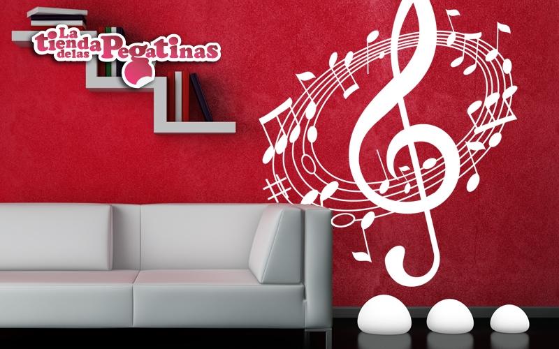 Vinilos con notas musicales 1 blog vinilos decorativos - Vinilos decorativos musicales ...