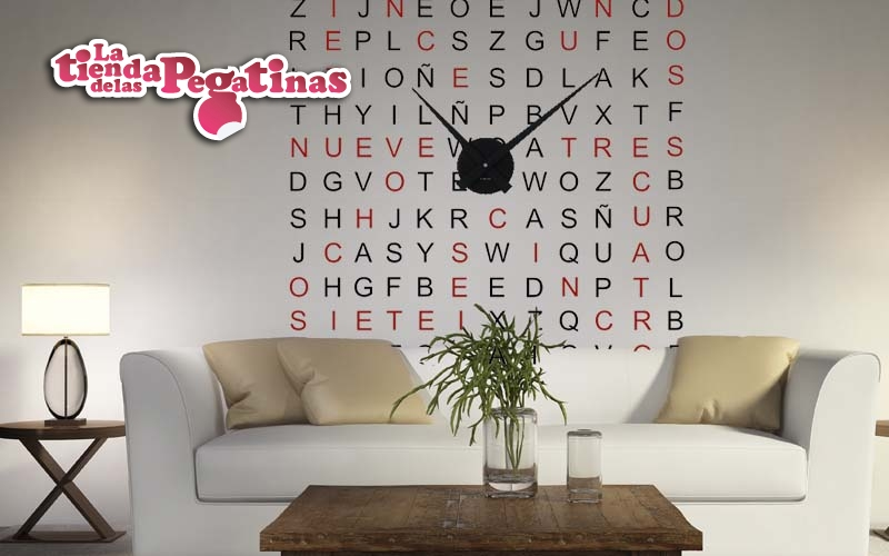 Relojes con vinilo decorativo vinilos con reloj 1 blog - Relojes de vinilo ...