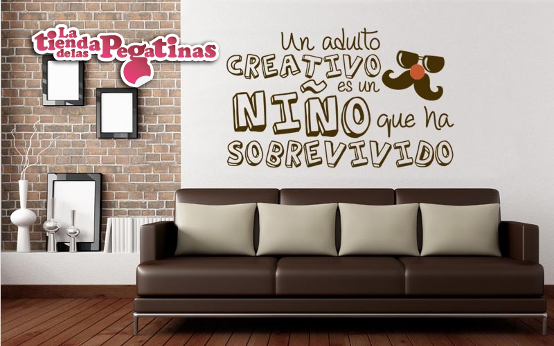 Vinilos decorativos super chulos 3 blog vinilos for Pegatinas frases pared