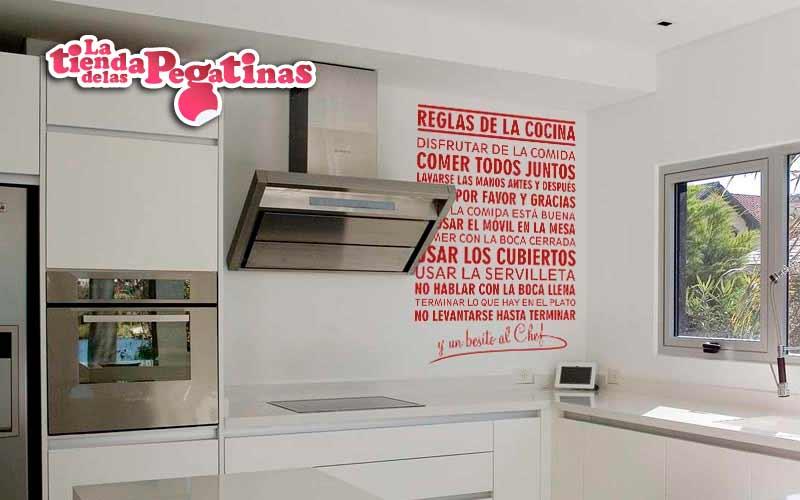 Dale un toque alegre a tu hogar con nuestros vinilos - Pegatinas para cocinas ...
