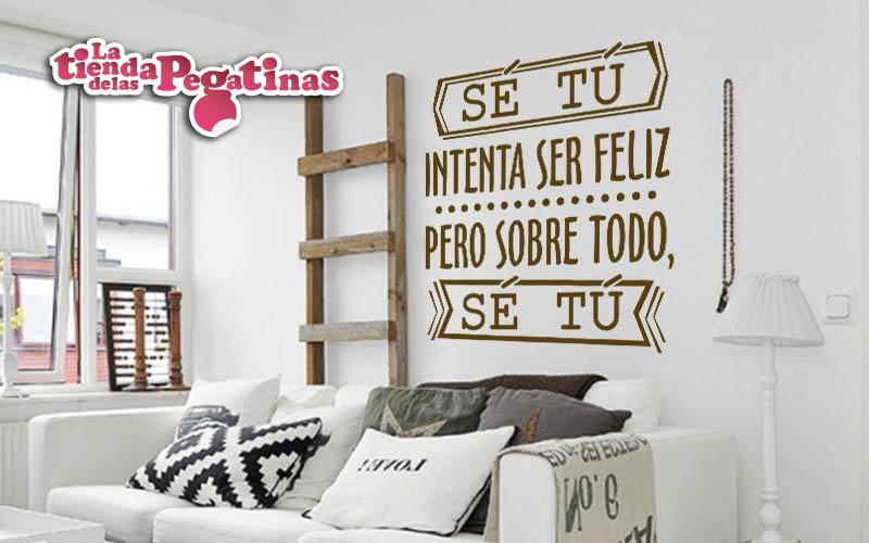Nuevas pegatinas de vinilo con frases 1 blog vinilos for Vinilos pared frases
