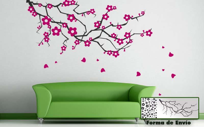 Vinilos de plantas pegatinas de flores blog vinilos - Pegatinas para las paredes ...
