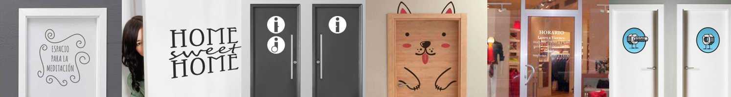 vinilos para colocar en puertas
