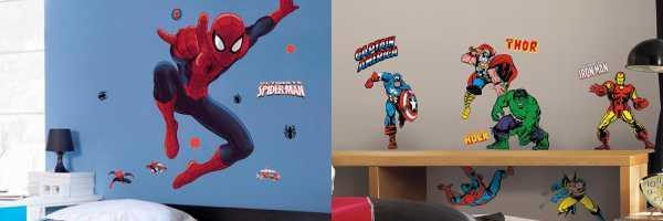 vinilos superheroes marvel