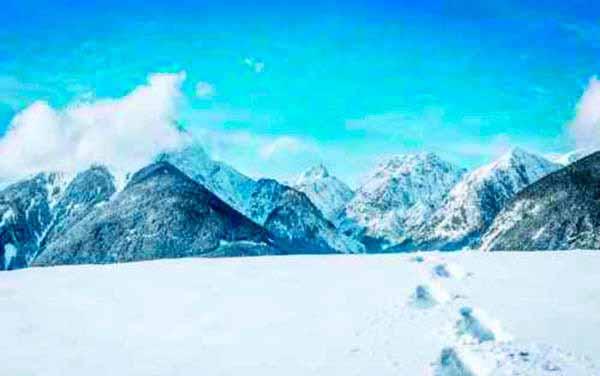Fotomurales con escenas de nieve