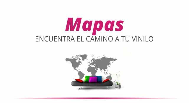 Comprar Vinilos Mapas