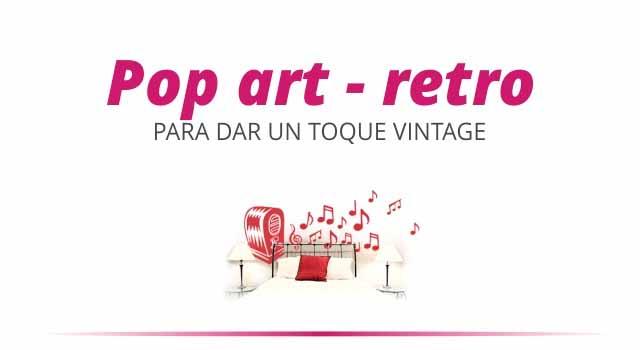 Vinilos de Pop Art Retro Vintage
