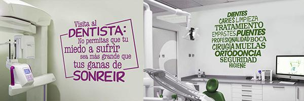 Vinilo clinica dental