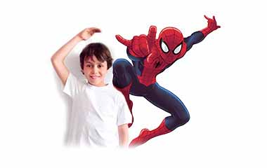 Pegatinas infantiles de Superhéroes y Comics Marvel