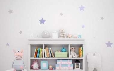 100 Hermosas estrellas en vinilo autoadhesivo en Colores morado y grises