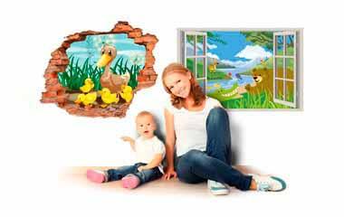 Pegatinas Infantiles 3D