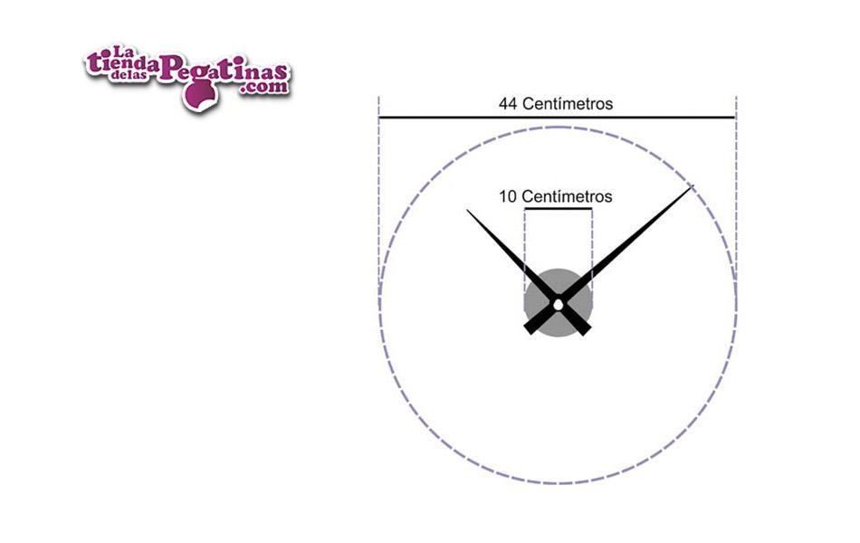 Vinilo Reloj Espirales M
