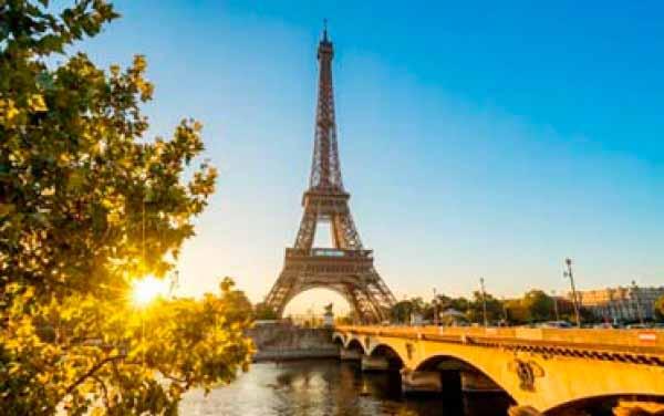 Banco de imágenes fotomural Paris