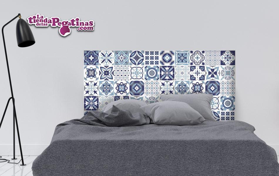 Vinilo decorativo Cabecero Mosaicos