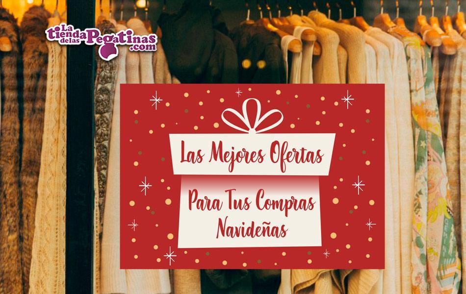 Cartel de Las Mejores ofertas de navidad en Papel en Papel