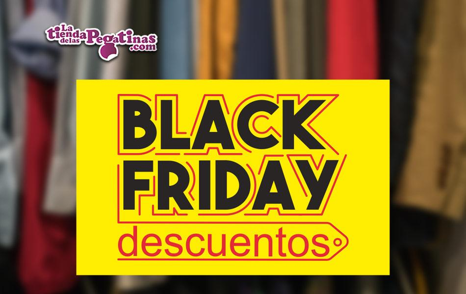 Cartel Black Friday Amarillo en Papel