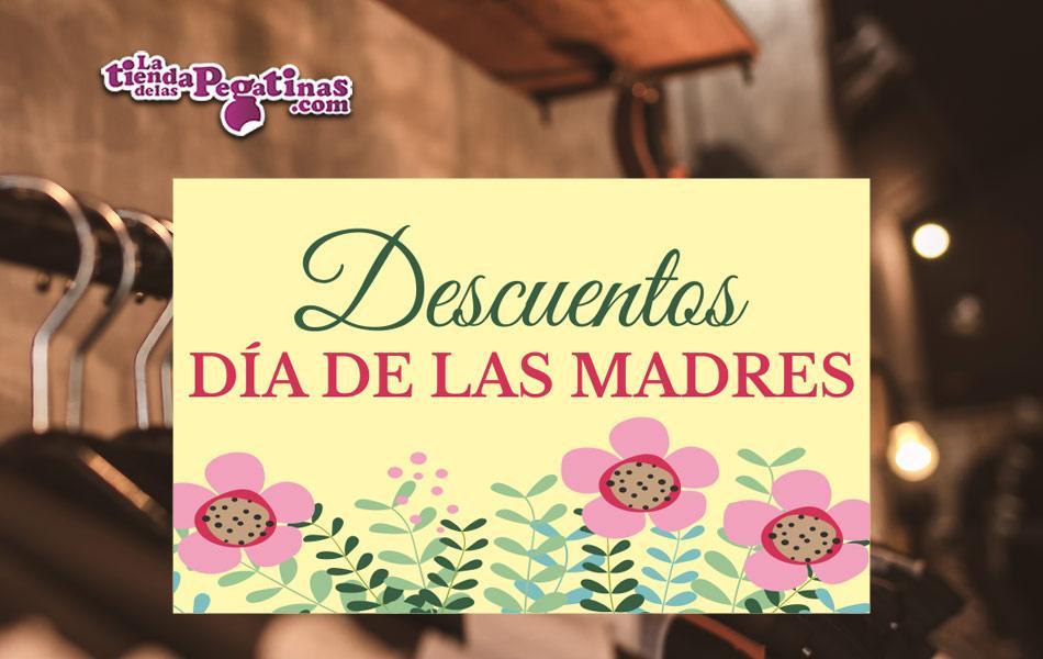 Cartel Descuentos Día de la Madre en Papel