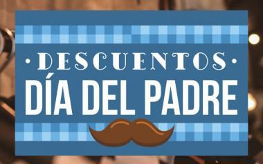 Cartel Descuentos Día del Padre en Papel