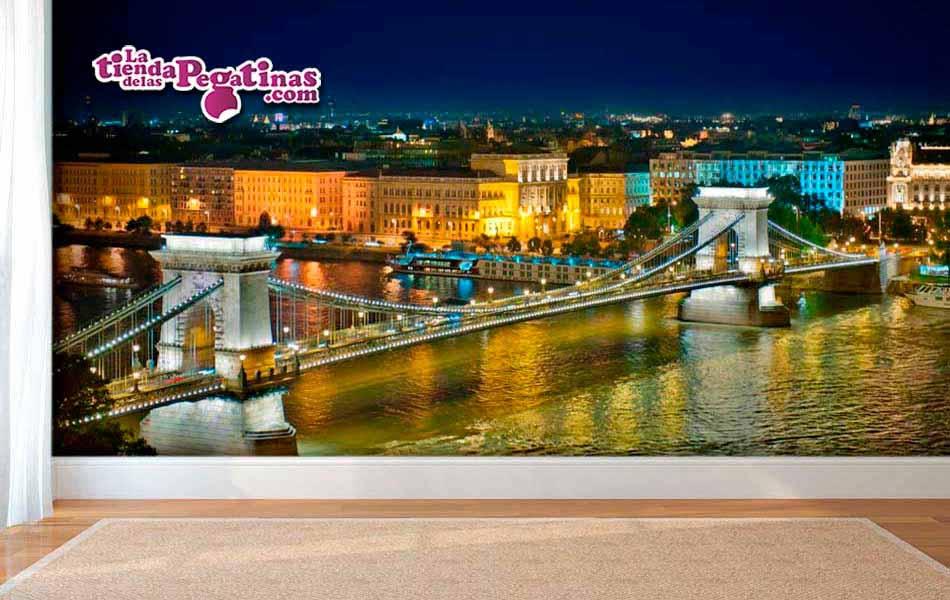 Fotomural Puente de Budapest