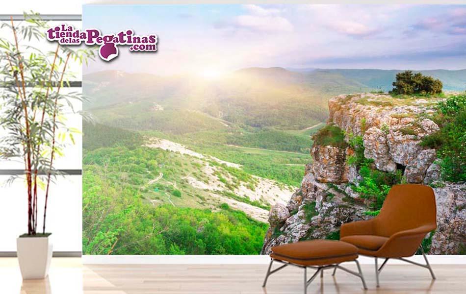 Vinilos decorativos paisajes naturales trendy ro en calma for Vinilos murales paisajes