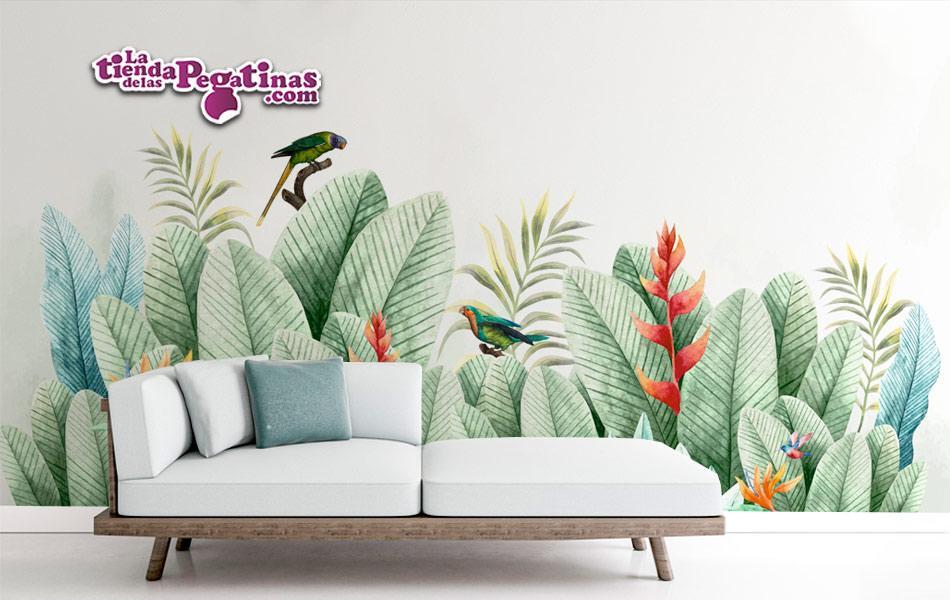 Fotomural Tropical Vintage