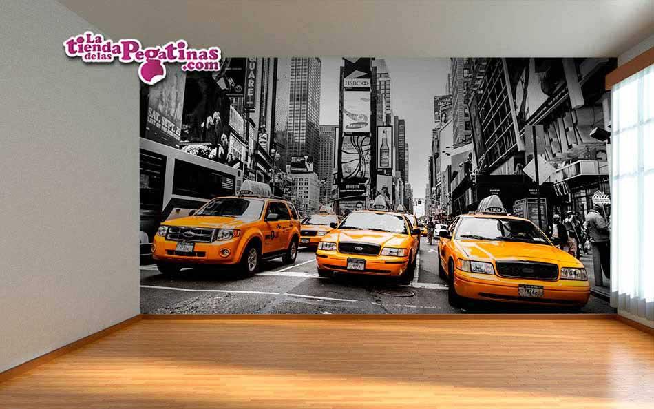 Fotomural táxis de Nueva York