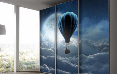 Fotomural Volando hacia tus sueños