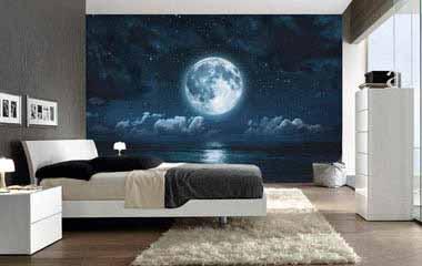 comprar fotomural luna llena