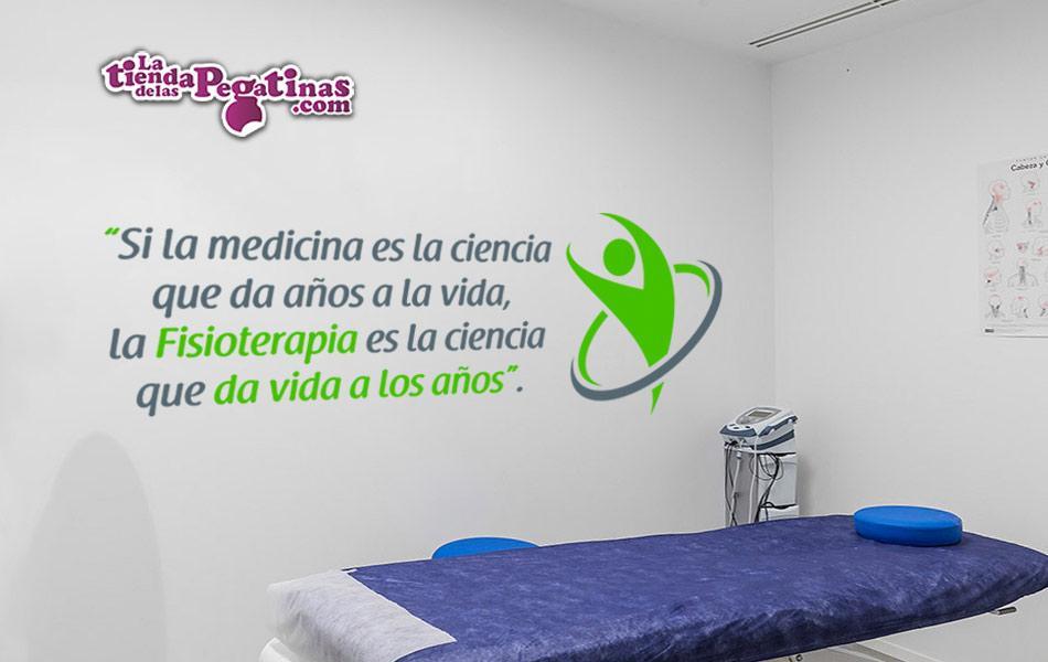 Pegatinas decorativa spa pared clínica fisioterapia