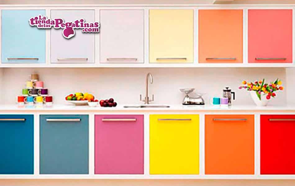 vinilos colores para cocina