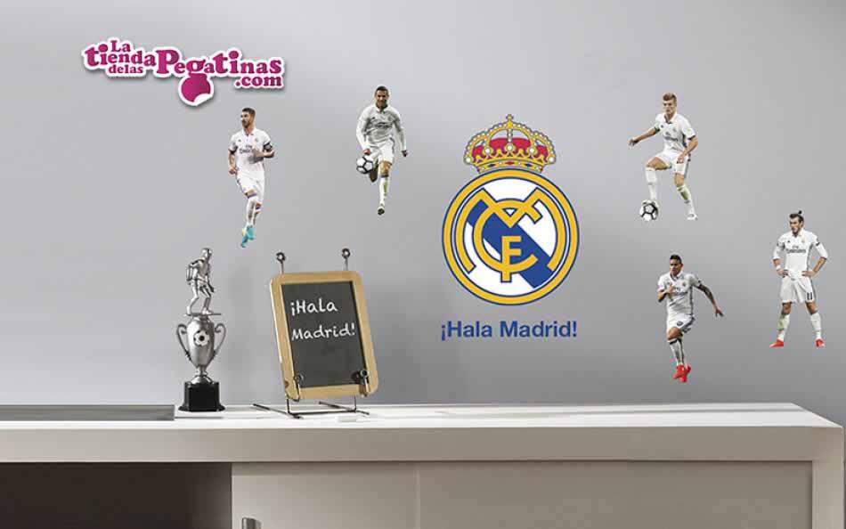 Vinilo Real Madrid MIni