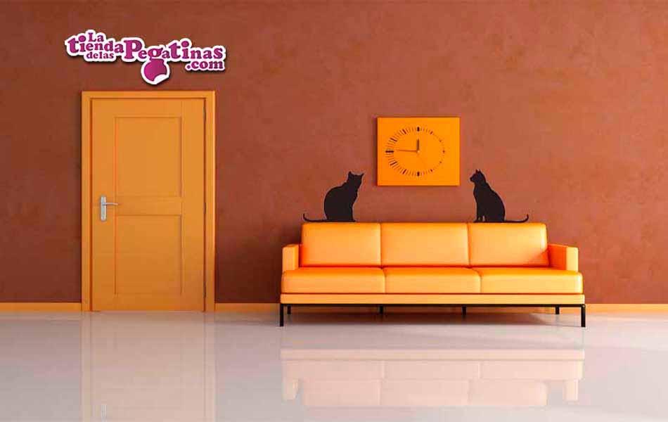 Vinilo decorativo - Miau Miau