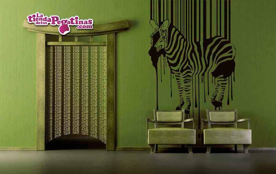 Vinilo decorativo - Cebra rayada