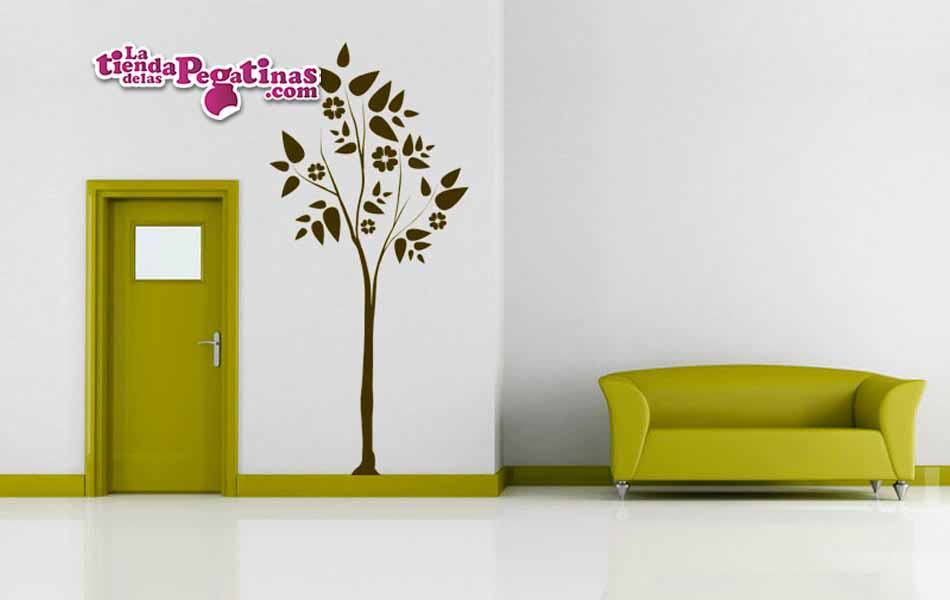 Vinilo decorativo - Árbol Floral Lydia