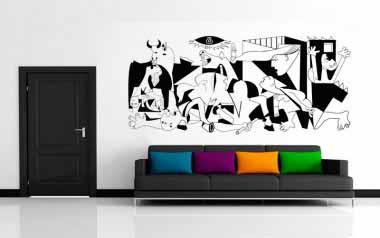 Vinilo decorativo - Guernica
