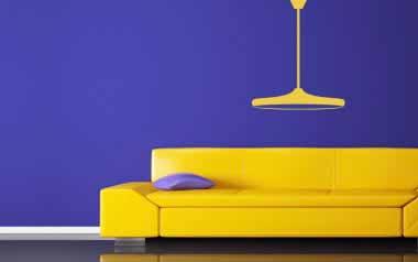 Vinilo decorativo - Lámpara colgante