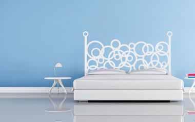 Vinilo cabecero cama compra ahora y rec belo en 24 48h Murales para recamaras matrimoniales