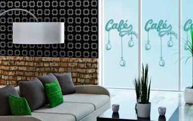 Vinilo decorativo - Café 01