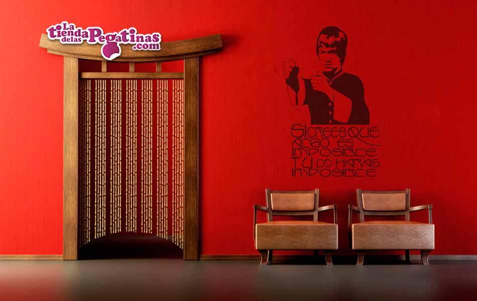 Vinilo decorativo - Bruce Lee